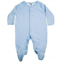 COTTON SLEEPSUIT, BLUE