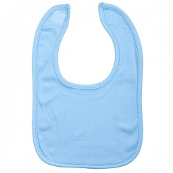 PLAIN VELCRO BIB, BLUE