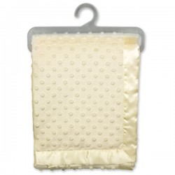 CREAM DIMPLE BLANKET