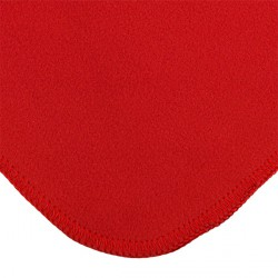 Polar fleece blanket -red