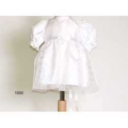 White Dress with Ribbon