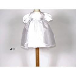 White Diamante Dress