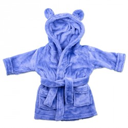 BLUE BABY BATHROBES 1-2y