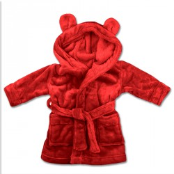 RED KIDS ROBES 3-6yrs