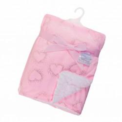 Heart Foil Blanket