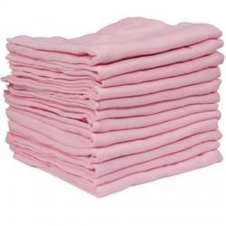 Pink Muslin squares