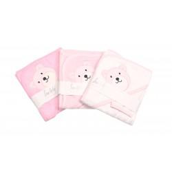 Hood towel and mitt